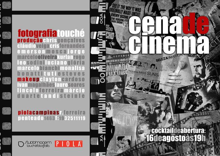 Exposição: Cena de Cinema (convite)