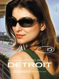 Detroit Eyewear Verão 2007 Edição de Estilo: Jorge Marcelo Oliveira Fotografia: Tácito Beleza: Tandi Steinle Modelo: Adriana Barea (Cdabliu Modelos) (1)