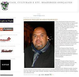 2011 Blog Boanerges Gonçalves Julho 2011