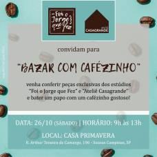 2019 Casa Primavera Bazar com cafezinho - Outubro @ Ana Paula Barros